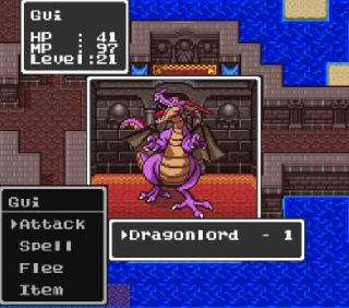 Screenshot Thumbnail / Media File 1 for Dragon Quest I & II (Japan) [En by RPGOne v2.0] (Dragon Quest Version)